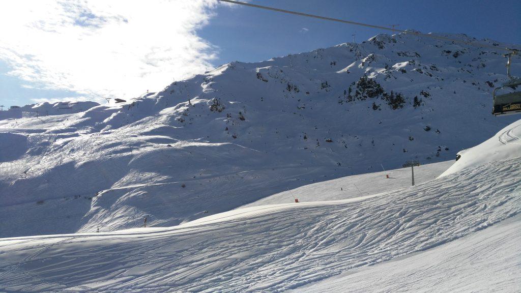Hochzillertal: Blick Richtung Schnee-Express und Kristall-Express. Foto: Rainer Krause