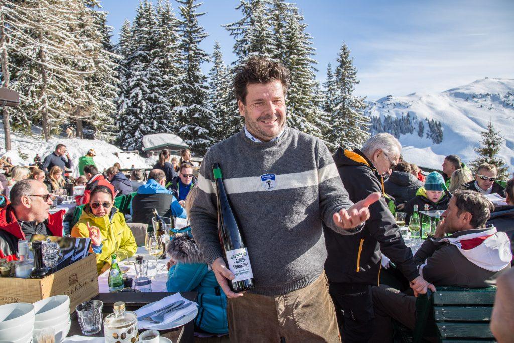 Wirt Ivan Marzola vom Bergrestaurant Sonnbühel, Kitzbühel, älteste Skihütte der Welt. Foto: Hasn-Werner Rodrian