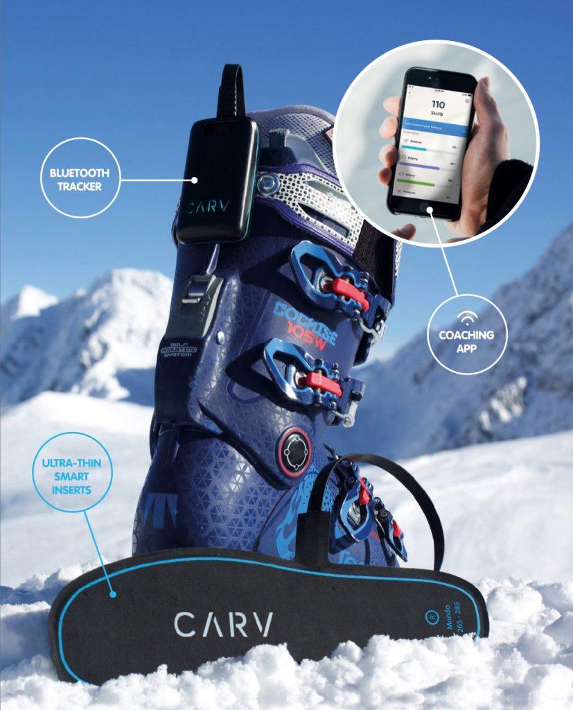 """Weltweit exklusiv können in der österreichischen Urlaubsregion Schladming-Dachstein Gäste derzeit einen digitalen Skilehrer namens """"Carv"""" testen. Foto: Carv"""