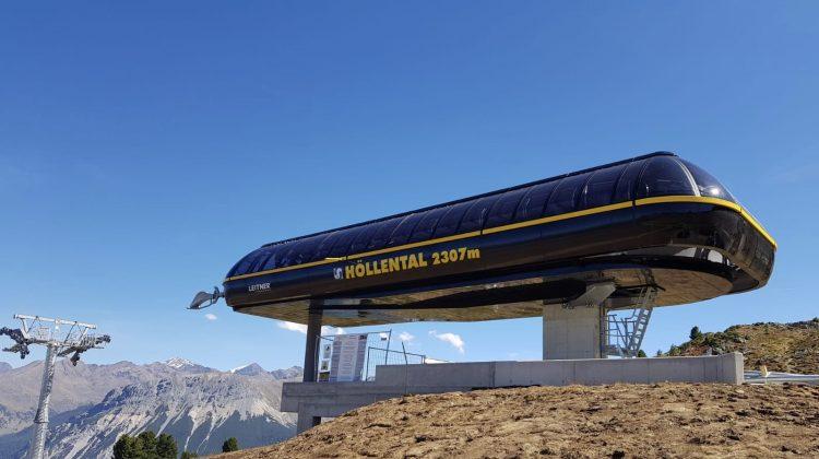 Haideralm-Schöneben am Reschenpass: die neue Höllental-Bahn