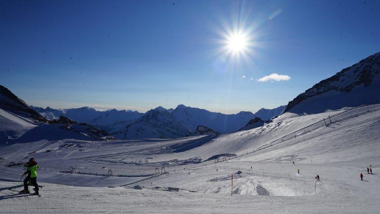 Hintertuxer Gletscher. Foto: Ben Krause