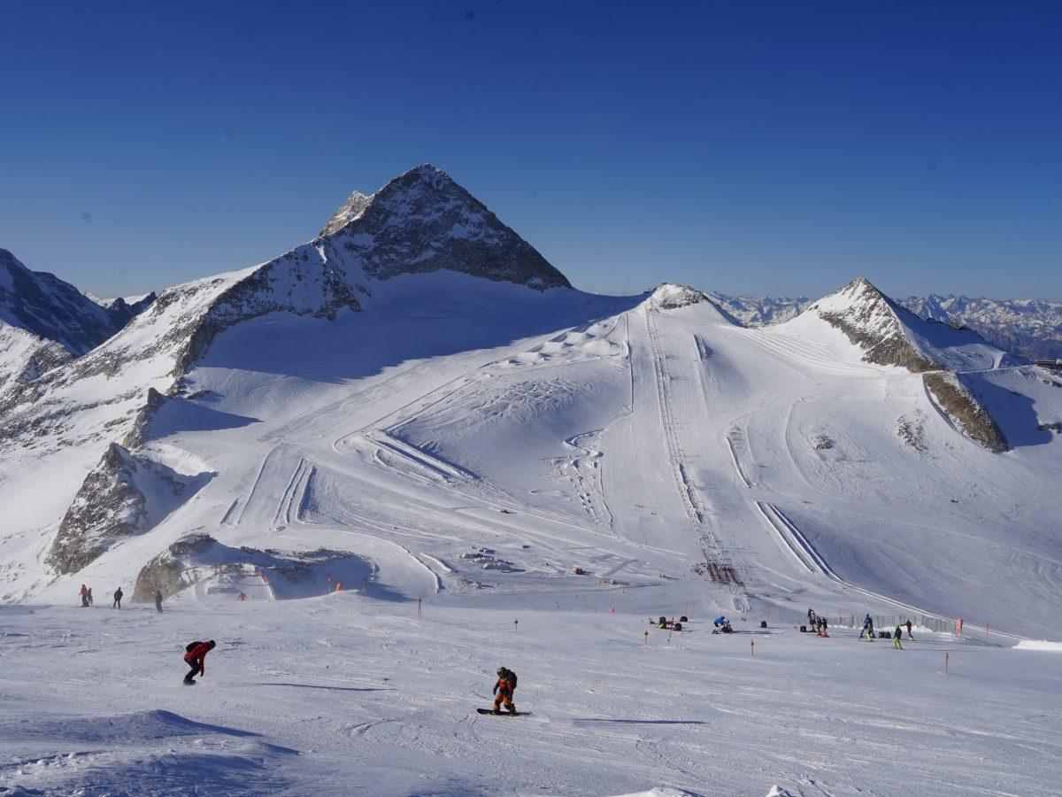 Tirol, Hintertuxer Gletscher. Foto: Ben Krause