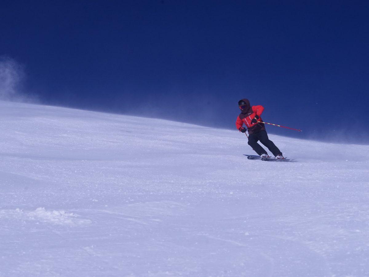 Tirol, Hintertuxer Gletscher, Rider Ben Krause. Foto: Tom Krause