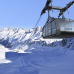 Die neue windsichere Falginjochbahn am Kaunertaler Gletscher. Foto: Kaunertaler Gletscherbahnen