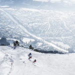 Innsbruck, Skigebiet Nordkette, Blick auf Innsbruck. Foto: Andre Schoenherr