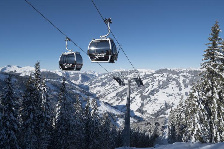 Ab Winter 2019/20 mit dem zellamseeXpress vom Glemmtal direkt ins Panorama - & Familienskigebiet Schmittenhöhe. Foto: Schmittenhöhebahn AG