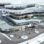 Ischgl: Silvretta-Therme, die 2022 mit 1000 Quadratmeter Wasserflächeund umlaufender Eisbahn fertig sein soll. Foto: TVB Paznaun – Ischgl