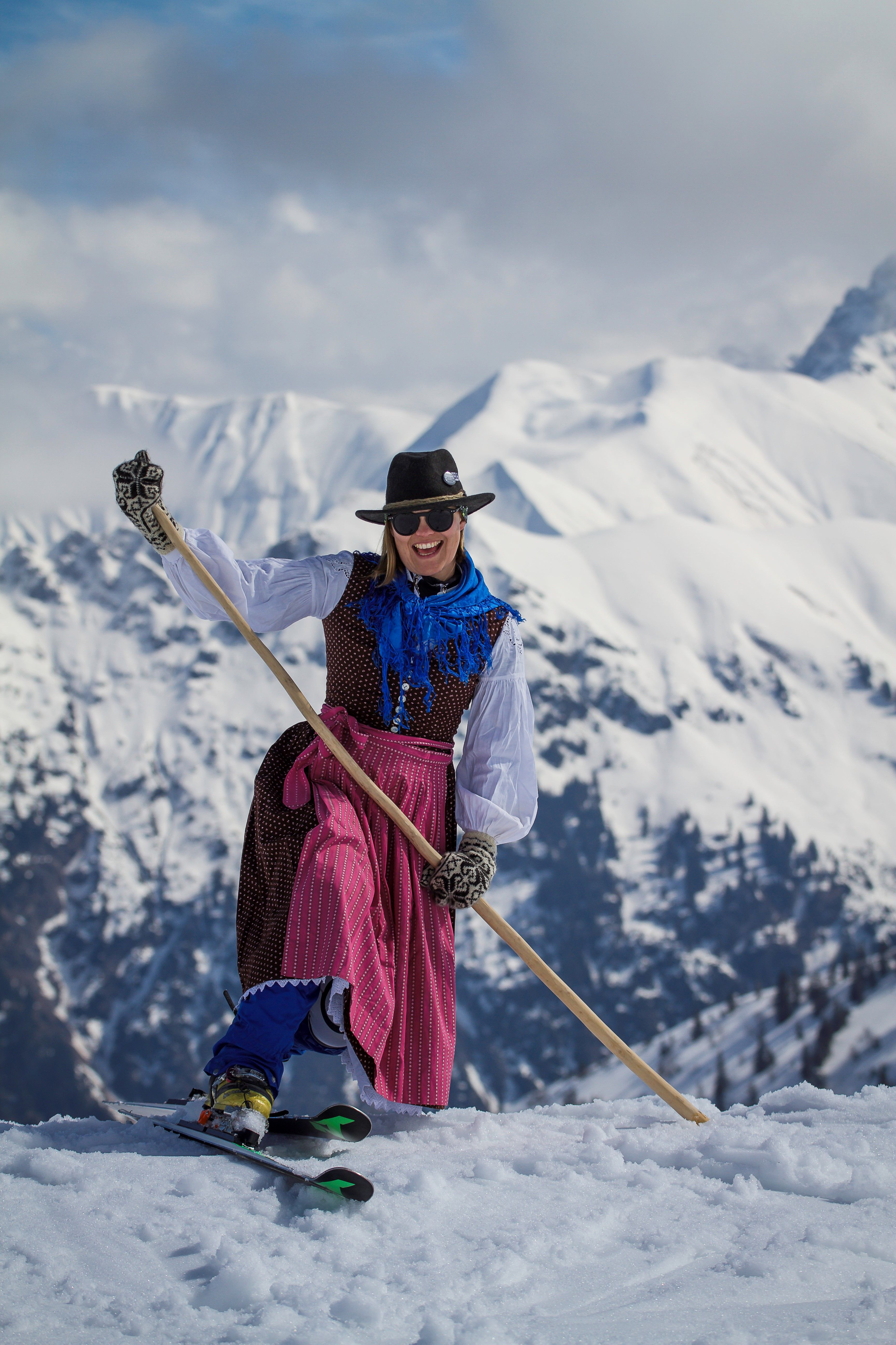 Telemark Women's Camp am Hintertuxer Gletscher. Foto: Armin Friedl
