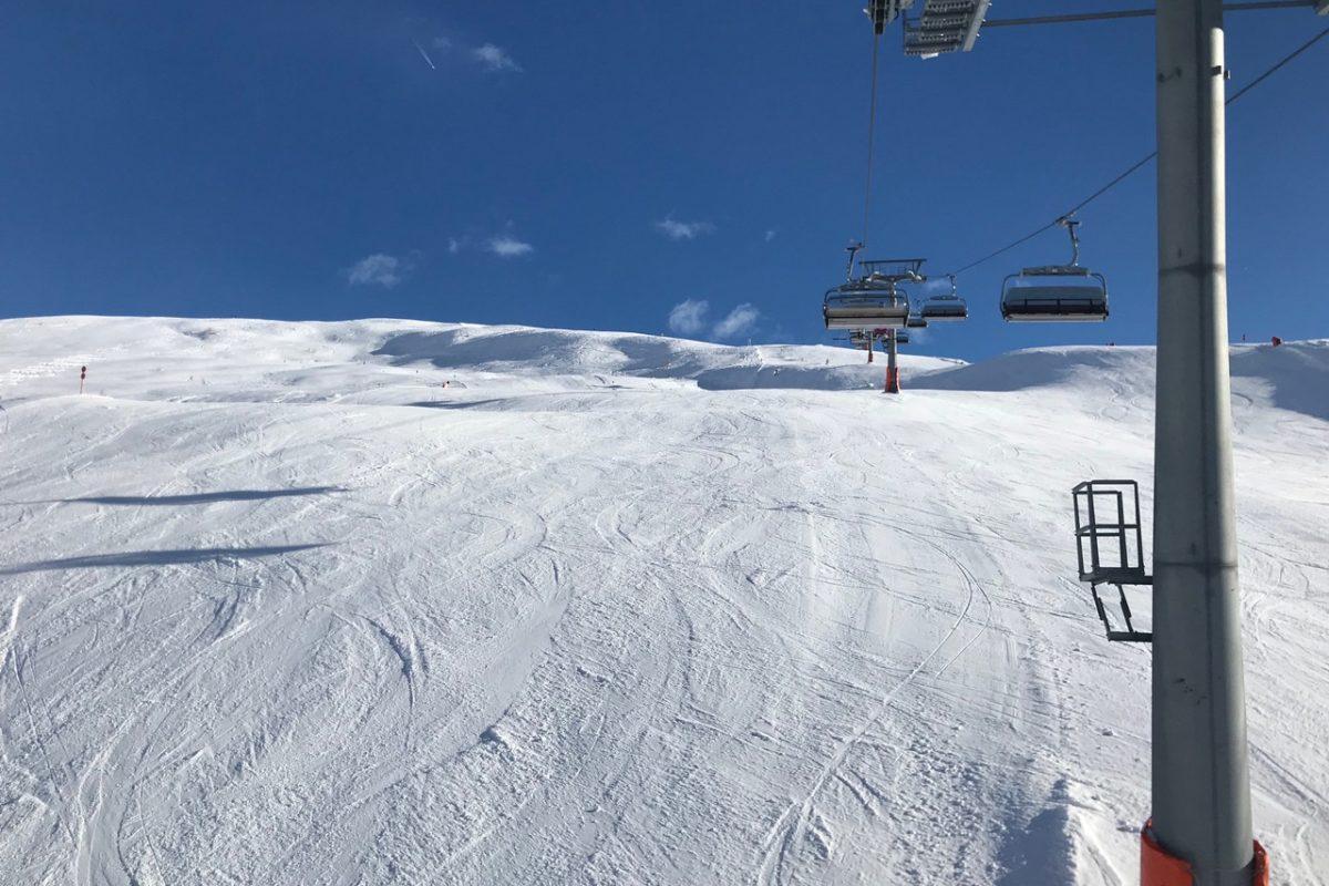 Osttirol: Schnee überall - Traumbedingungen beim Saisonstart im Defereggental. Foto: Monika Hoeksema